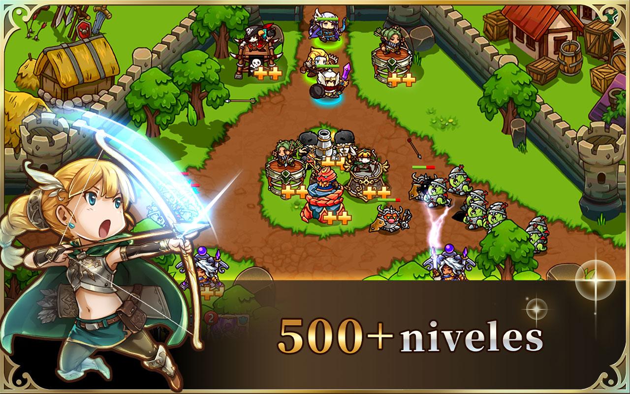 Screenshot 10: Crazy Defense Heroes