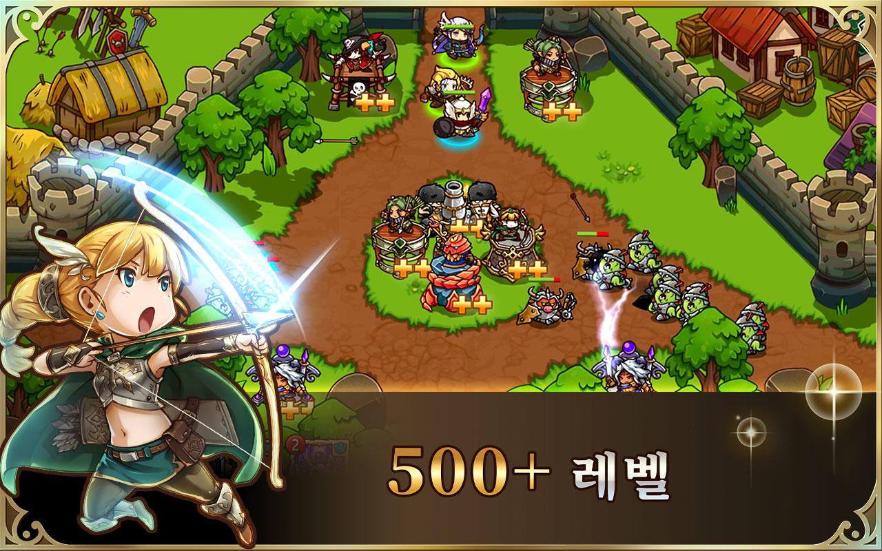 Screenshot 10: 크레이지 디펜스 히어로즈: 타워 디펜스 전략 게임