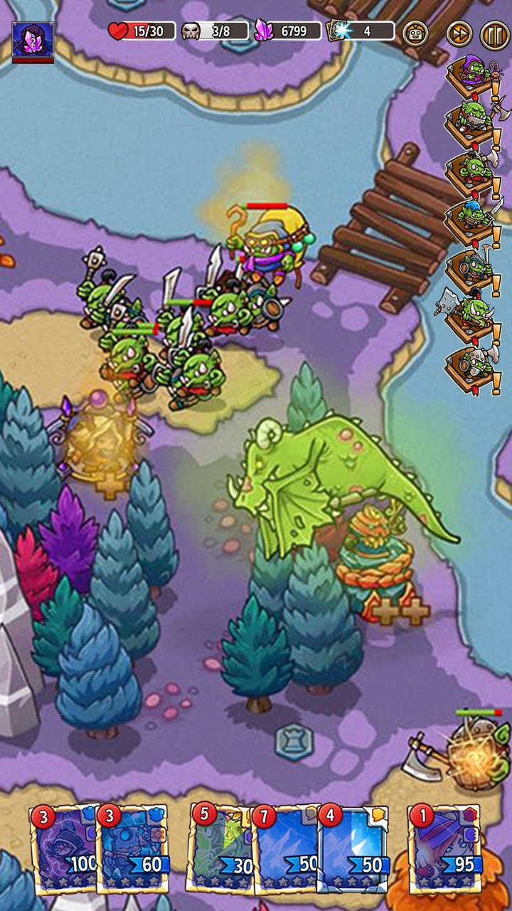 Screenshot 8: 크레이지 디펜스 히어로즈: 타워 디펜스 전략 게임