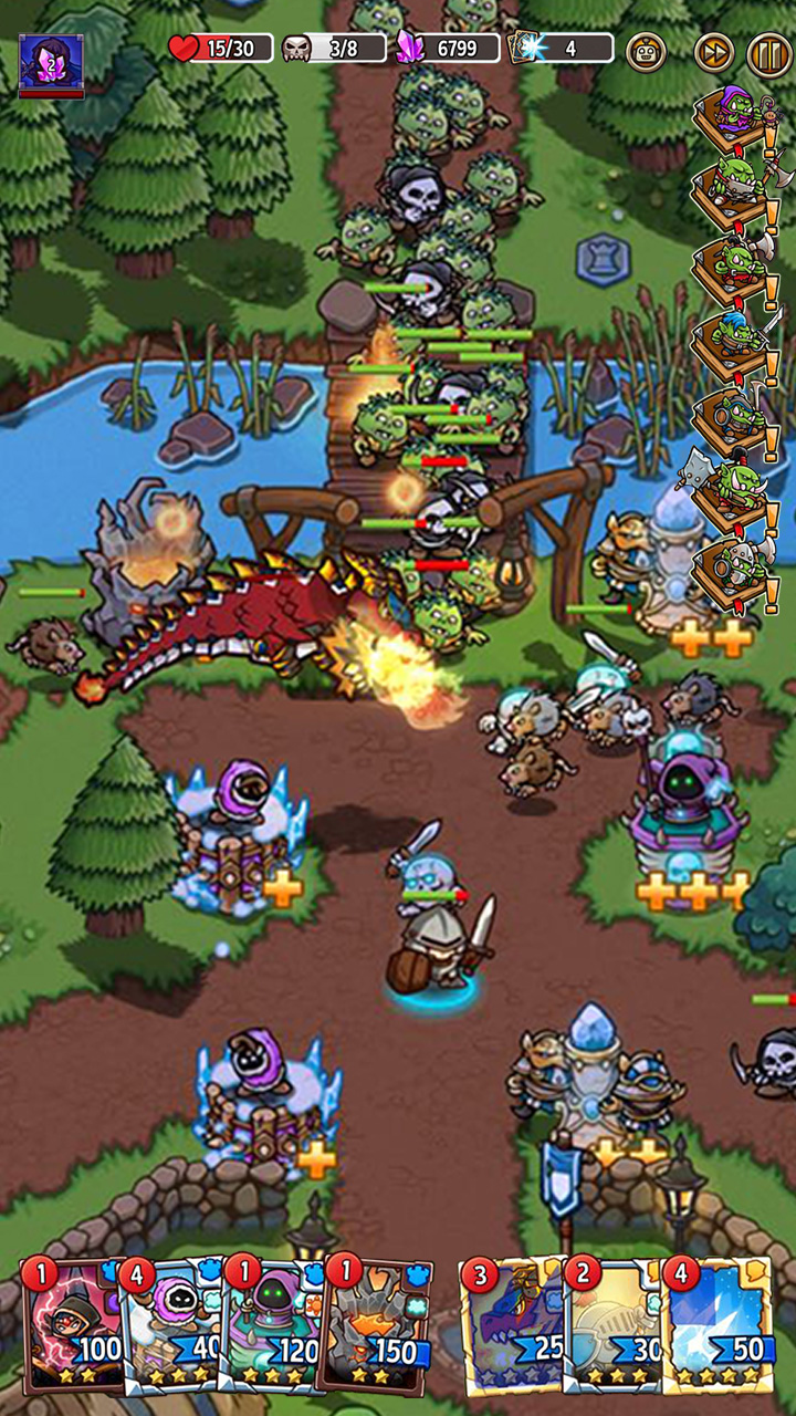 Screenshot 8: Crazy Defense Heroes