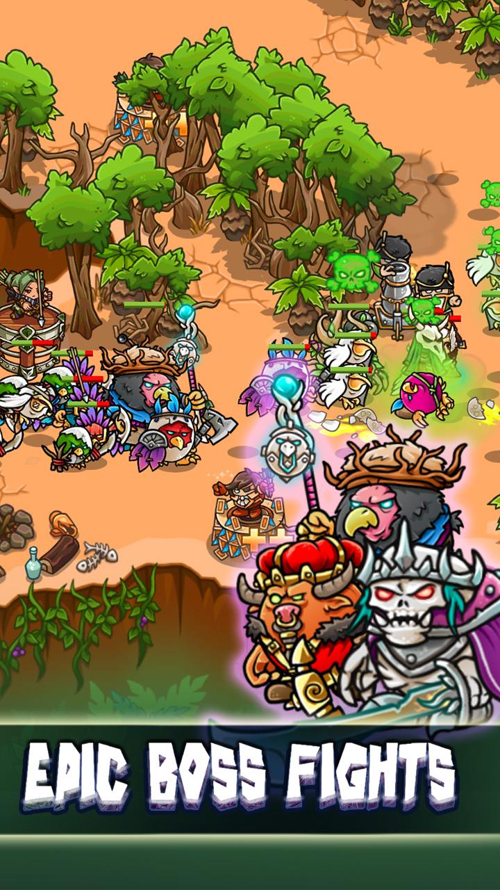 Screenshot 5: Crazy Defense Heroes