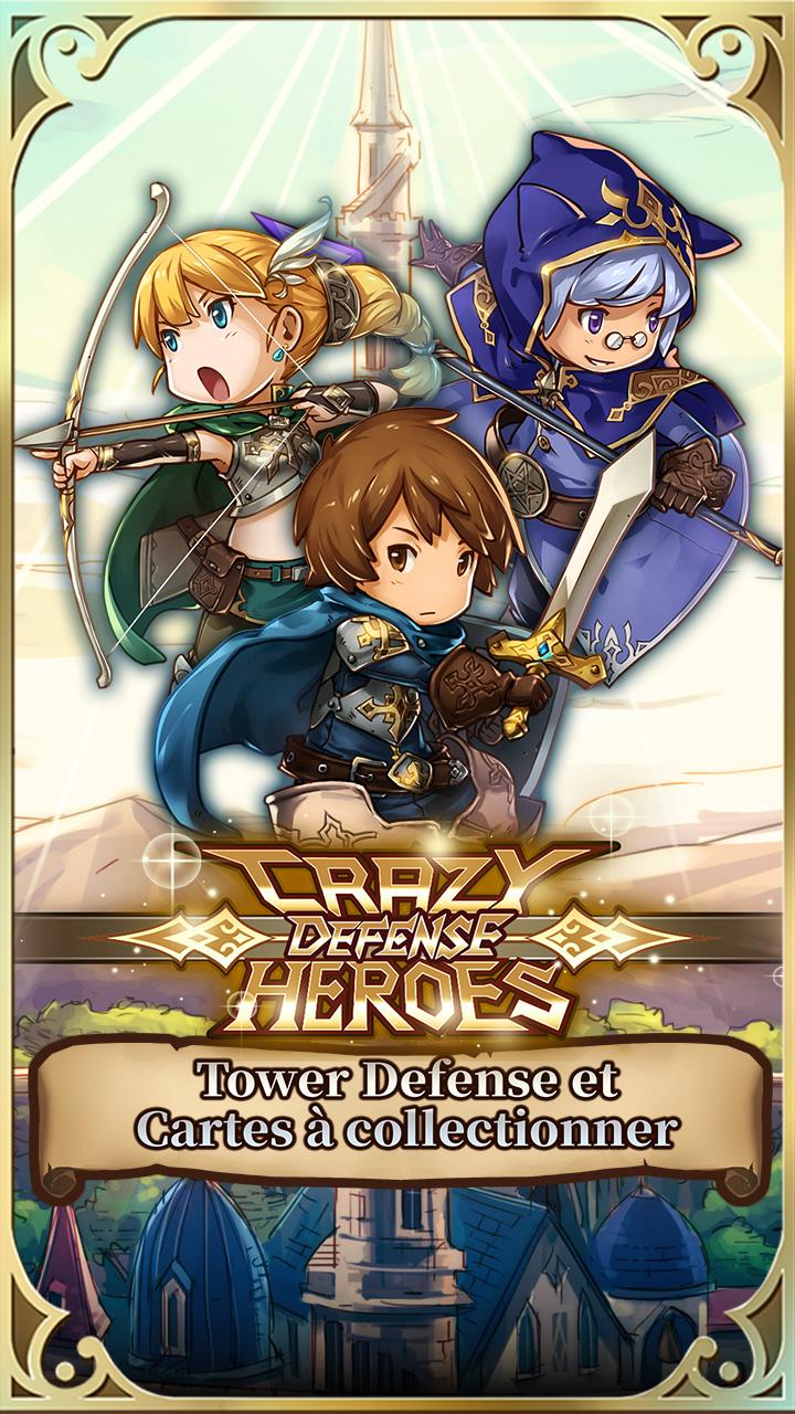 Screenshot 1: Crazy Defense Heroes