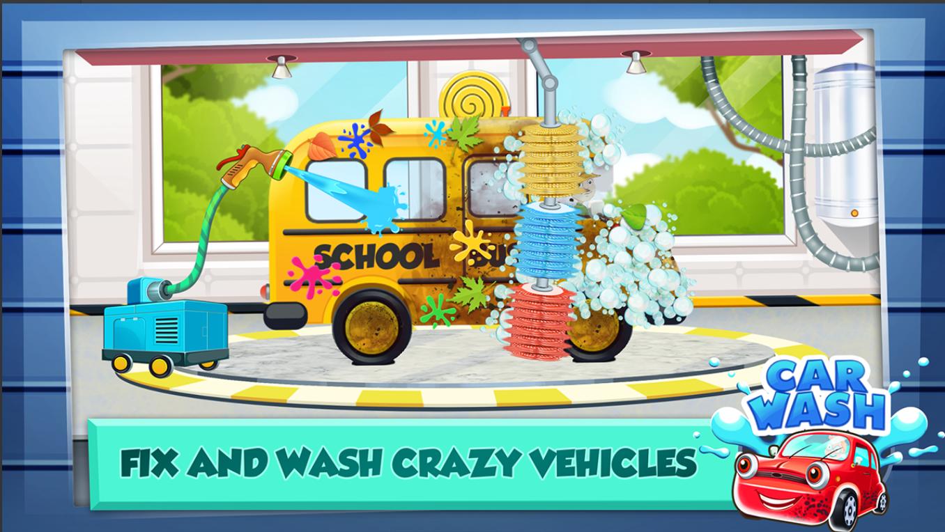 Screenshot 3: Car Wash Salon Game