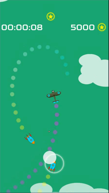 Screenshot 2: Endless Missiles