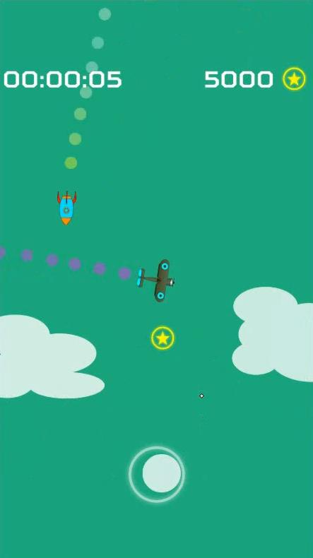 Screenshot 1: Endless Missiles