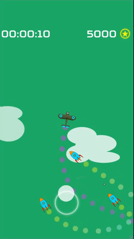 Screenshot 3: Endless Missiles