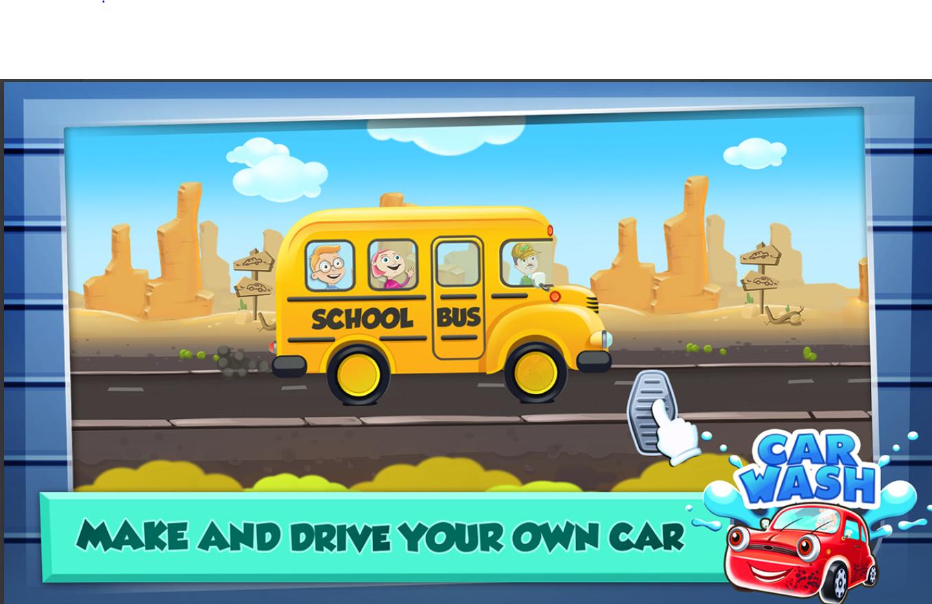 Screenshot 1: Car Wash Salon Game