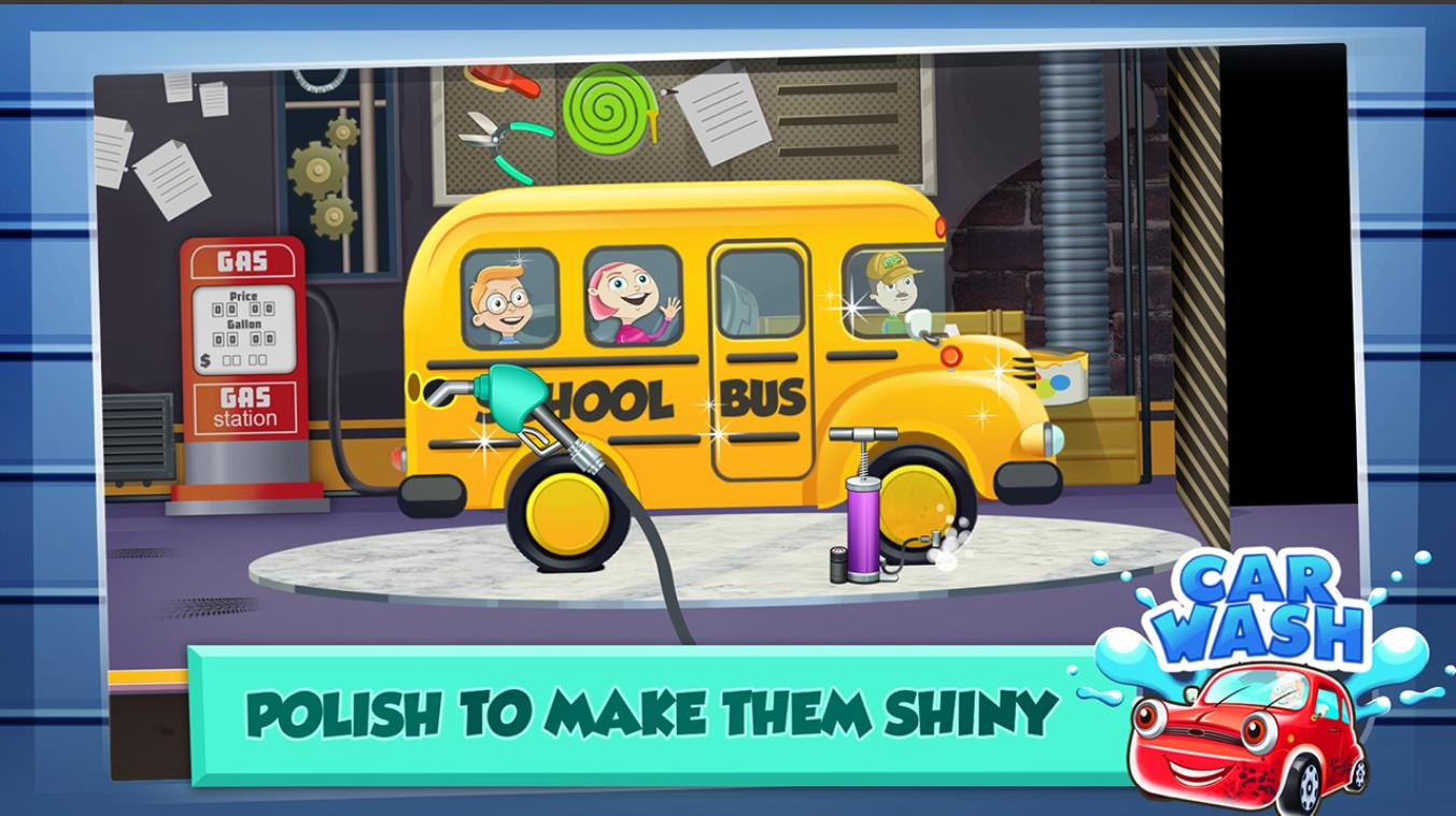 Screenshot 2: Car Wash Salon Game