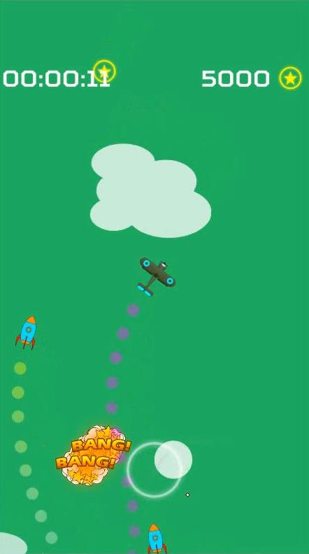 Screenshot 4: Endless Missiles