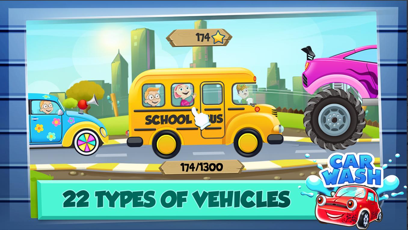 Screenshot 4: Car Wash Salon Game
