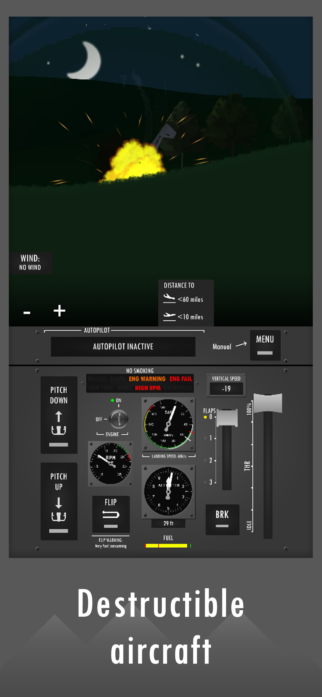 Screenshot 4: Flight Simulator 2d