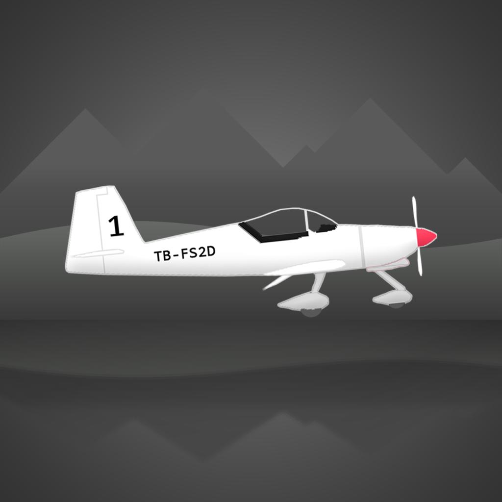 Icon: Flight Simulator 2d
