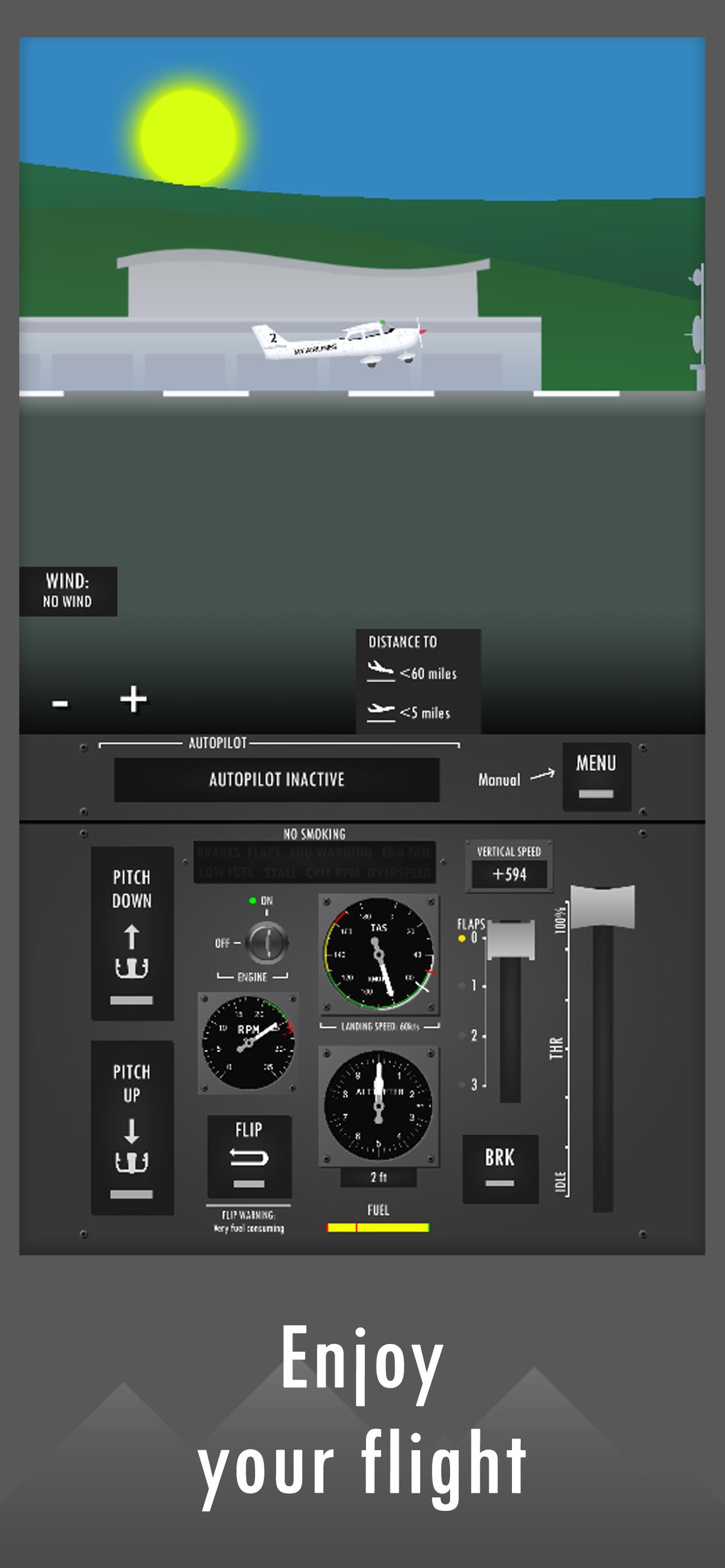 Screenshot 3: Flight Simulator 2d