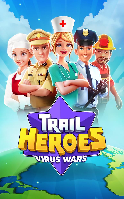 Screenshot 1: TRAIL HEROES: VIRUS WARS