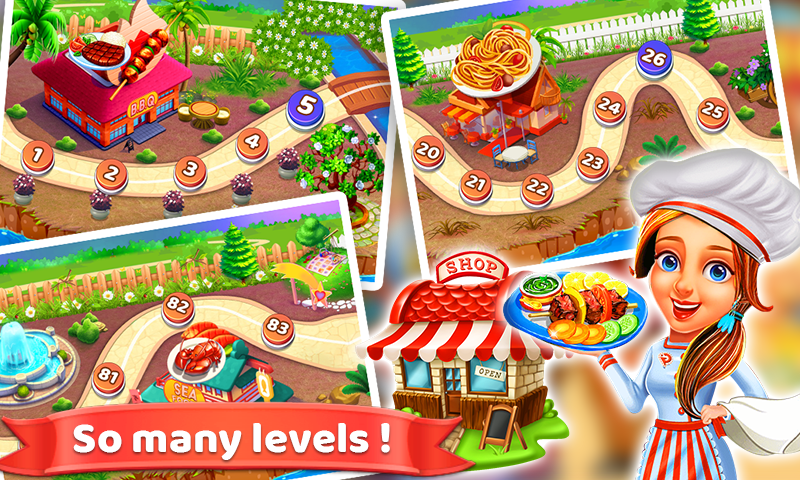 Screenshot 2: Mad Chef's Restaurant | Cooking Craze | Food Fever