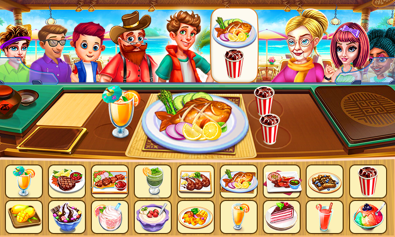 Screenshot 3: Mad Chef's Restaurant | Cooking Craze | Food Fever