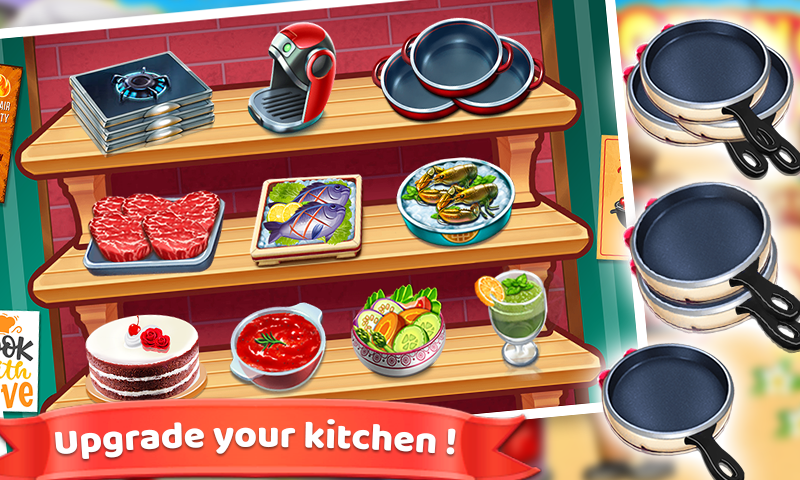 Screenshot 4: Mad Chef's Restaurant | Cooking Craze | Food Fever