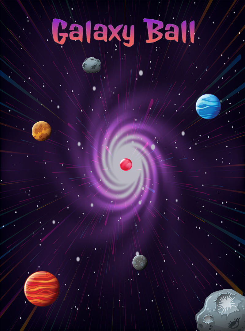 Screenshot 1: Galaxy ball