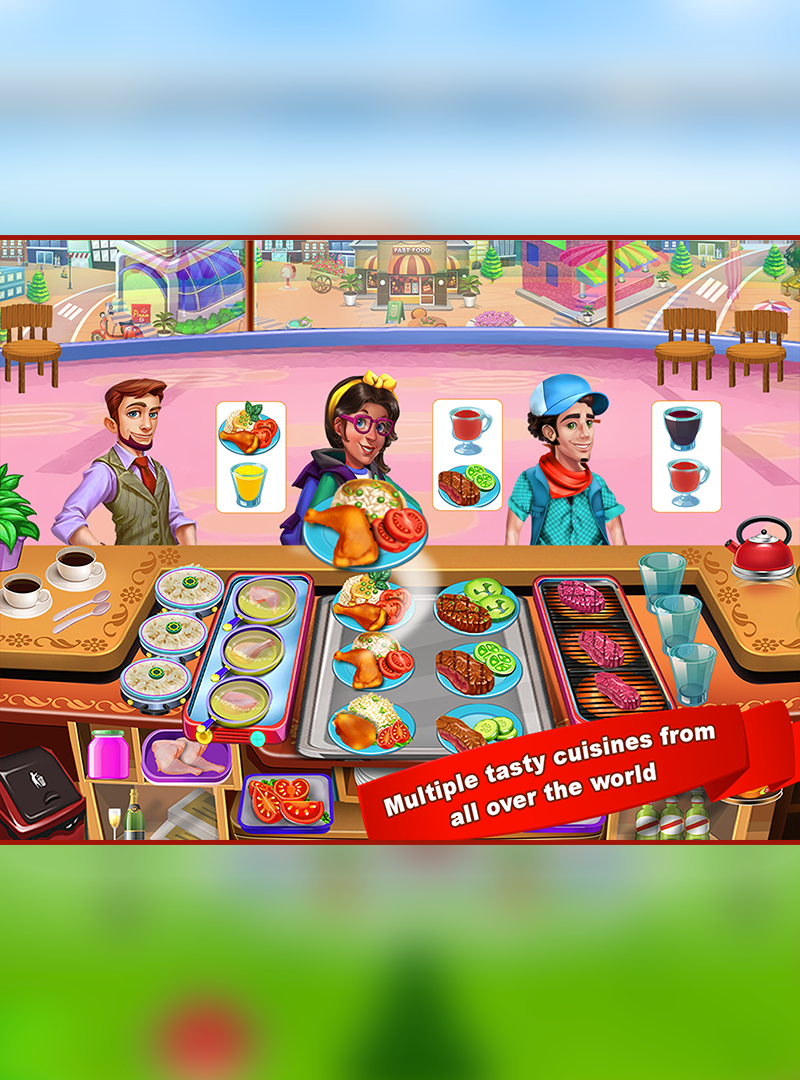 Screenshot 1: Cooking Frenzy Kitchen Cooking