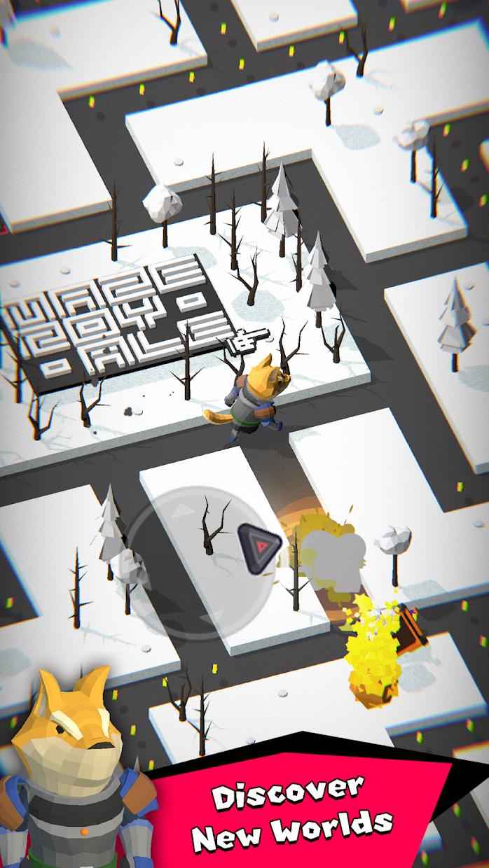 Screenshot 3: Maze Royale - Endless Runner