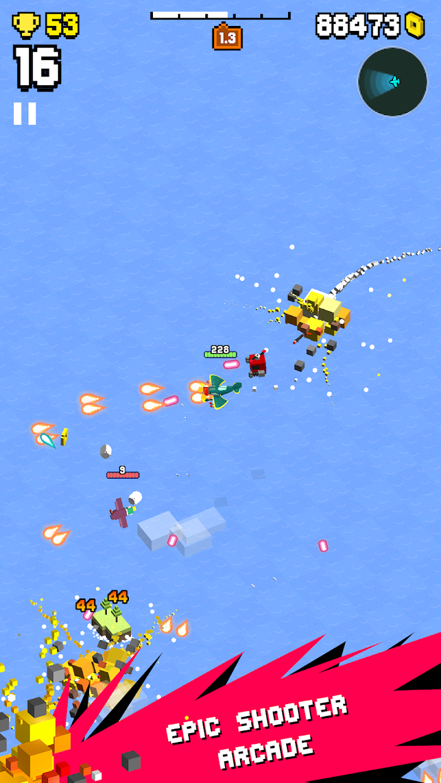 Screenshot 1: Wingy Shooters - Shmups Arcade