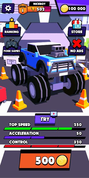 Screenshot 1: Drift Racing Online