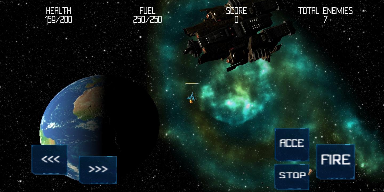 Screenshot 3: Space battle 2