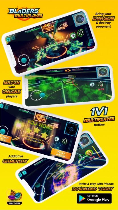 Screenshot 2: Beyblade Multiplayer Battle