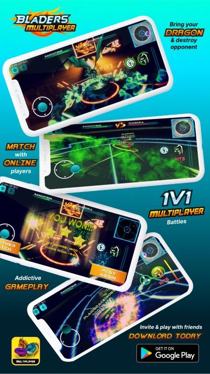 Screenshot 1: Beyblade Multiplayer Battle