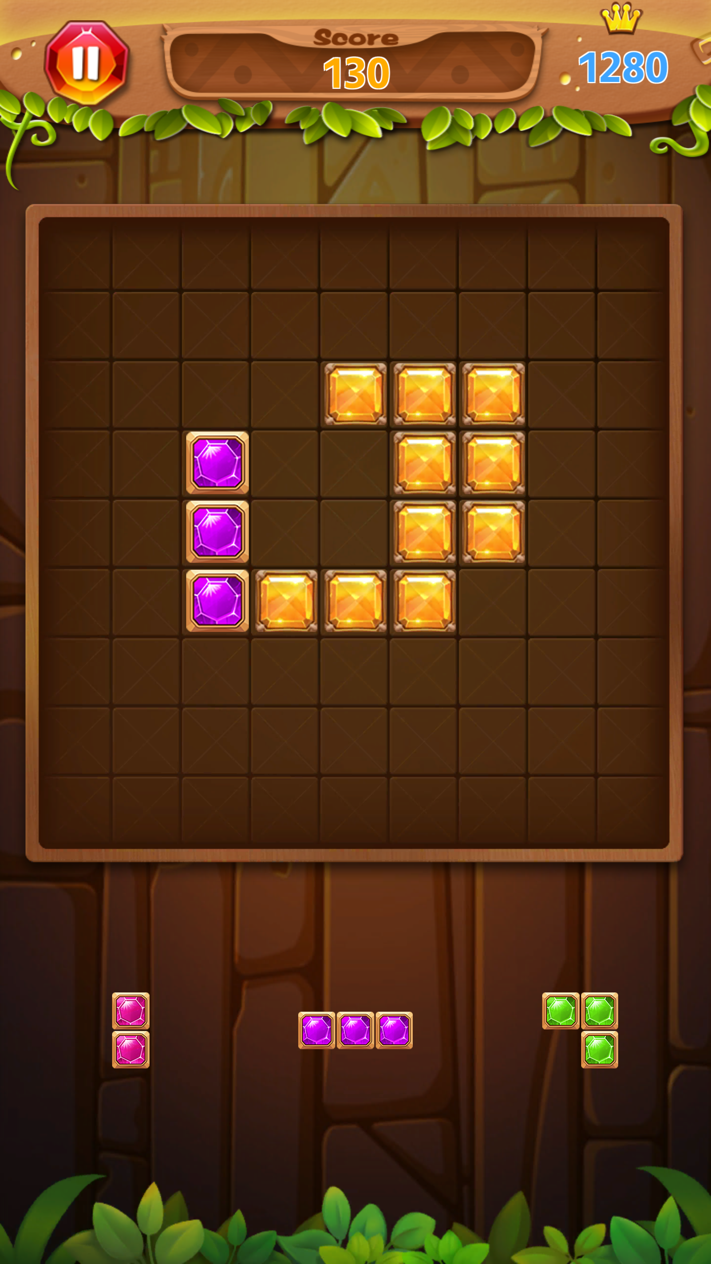Screenshot 1: Block Puzzle Master 2020