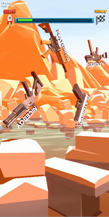 Screenshot 3: Gun Flipping Online