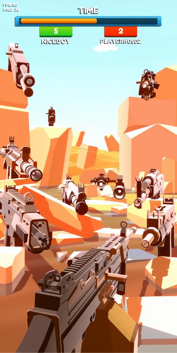 Screenshot 2: Gun Flipping Online