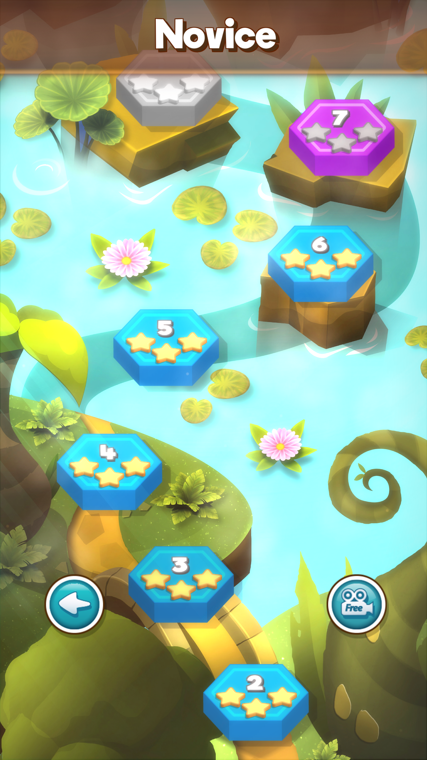 Screenshot 2: Hexa Puzzle Wood Block
