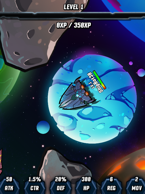 Screenshot 2: Spaceship Fighter Online