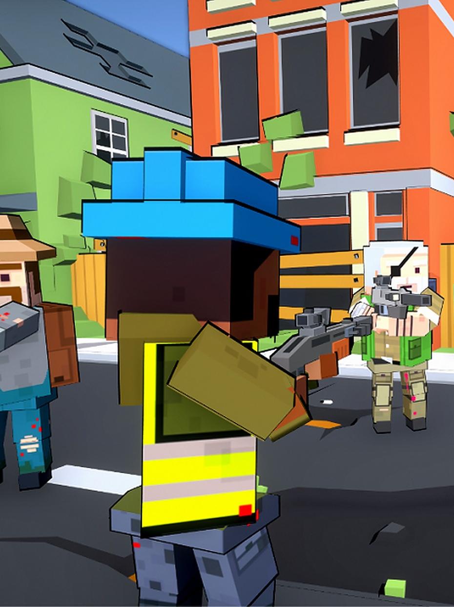 Screenshot 4: Blocky Gun TPS Online