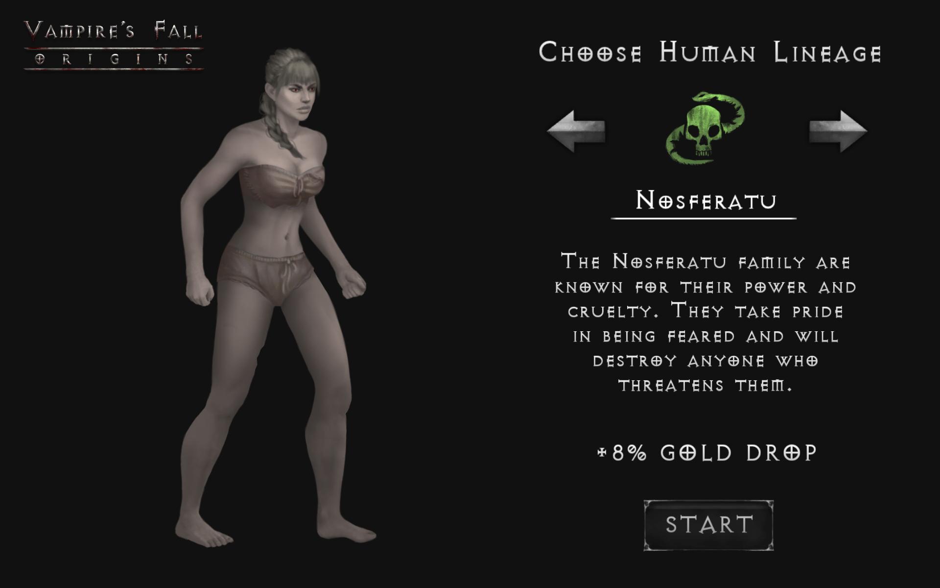 Screenshot 1: Vampire's Fall: Origins RPG