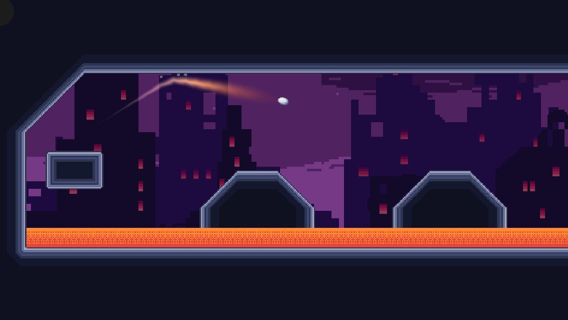 Screenshot 2: Rocket Golf - Arcade Golf Speedrun