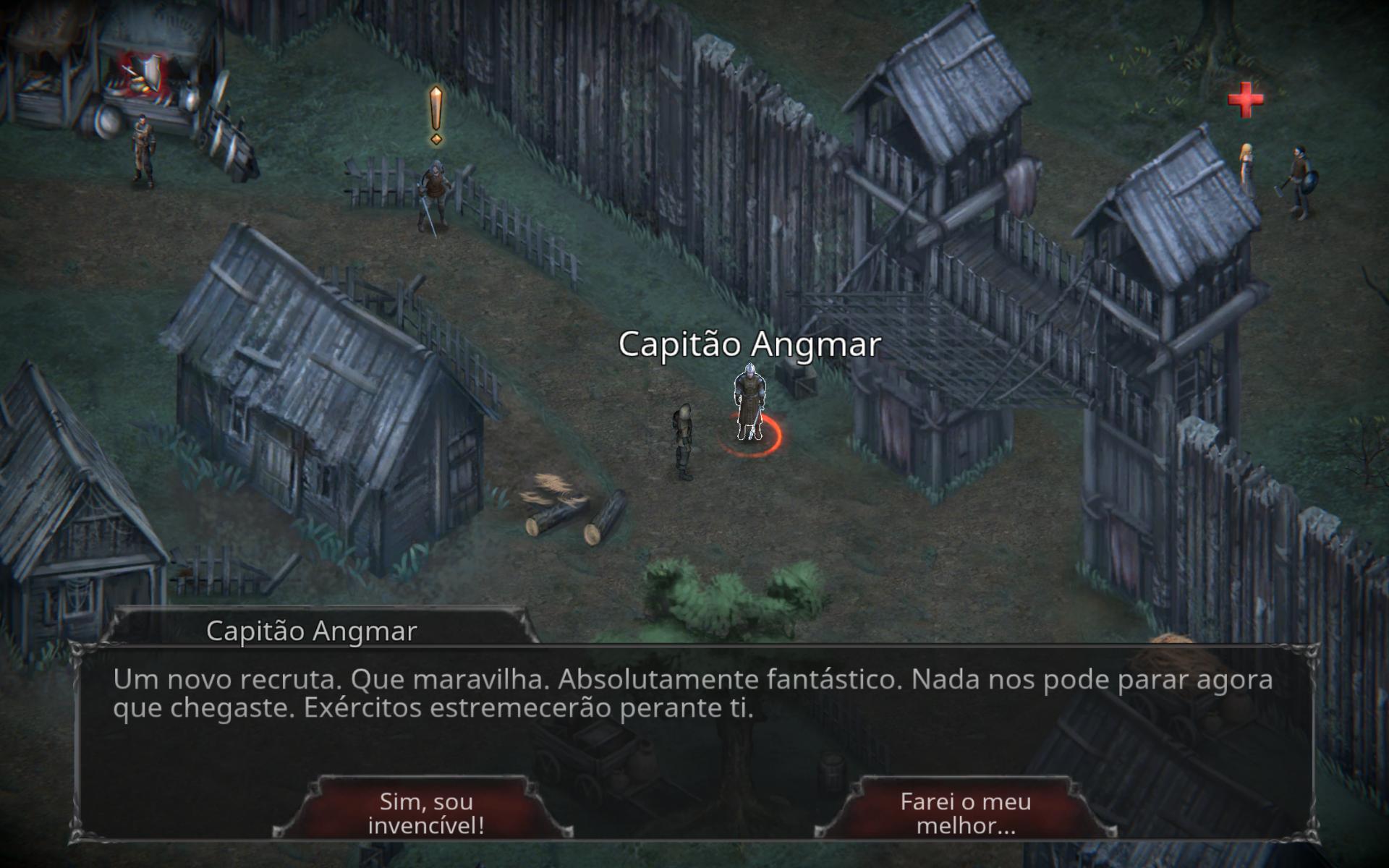 Screenshot 2: Vampire's Fall: Origins RPG