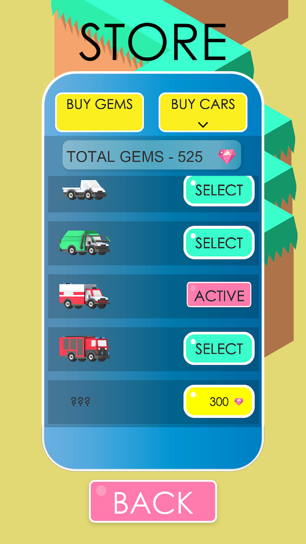 Screenshot 2: Sudden Turn Racing Zig Zag 3D