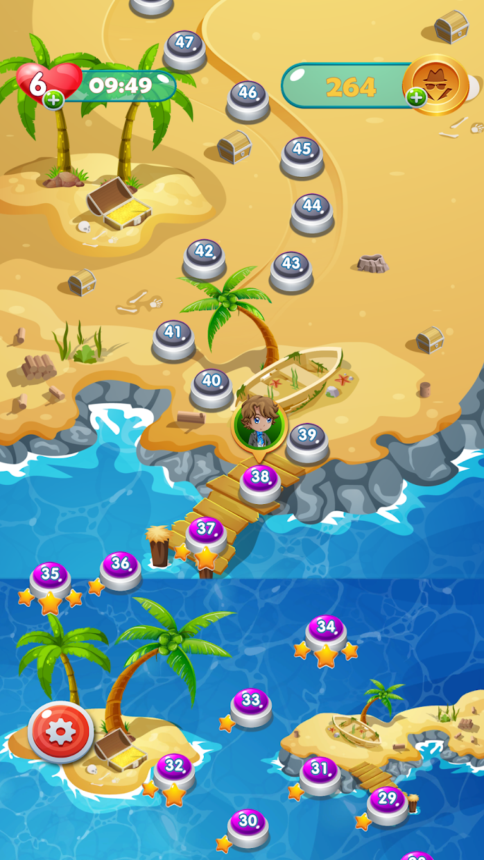 Screenshot 2: CASEPOPPER ESQUIRE – PUZZLE MYSTERY BUBBLE SHOOTER