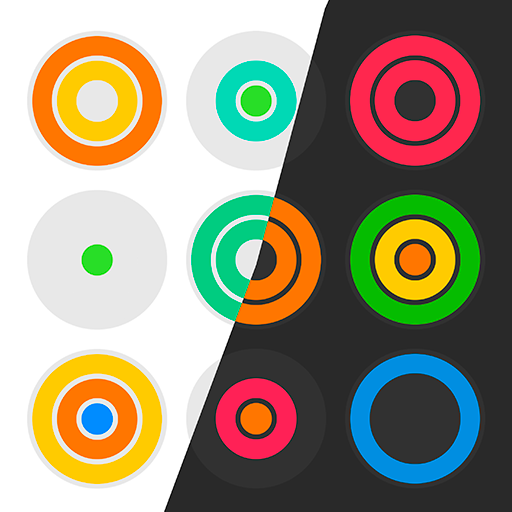 Icon: Rainbow Rings: Color Puzzle Game