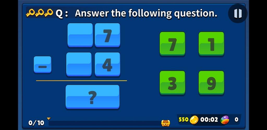 Screenshot 7: Math Shooting Game for Kids