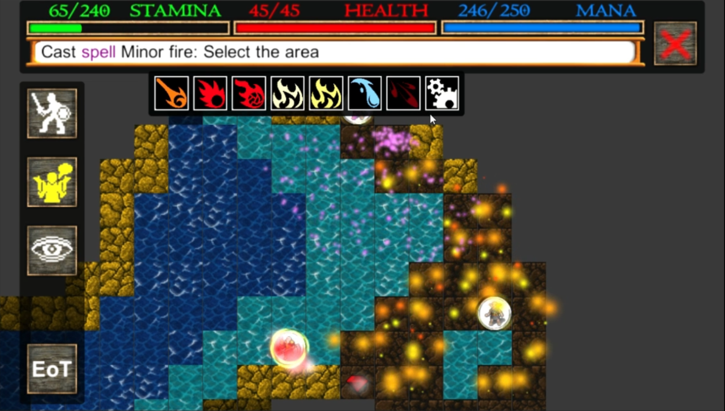 Screenshot 1: Nilia - Roguelike dungeon crawler RPG