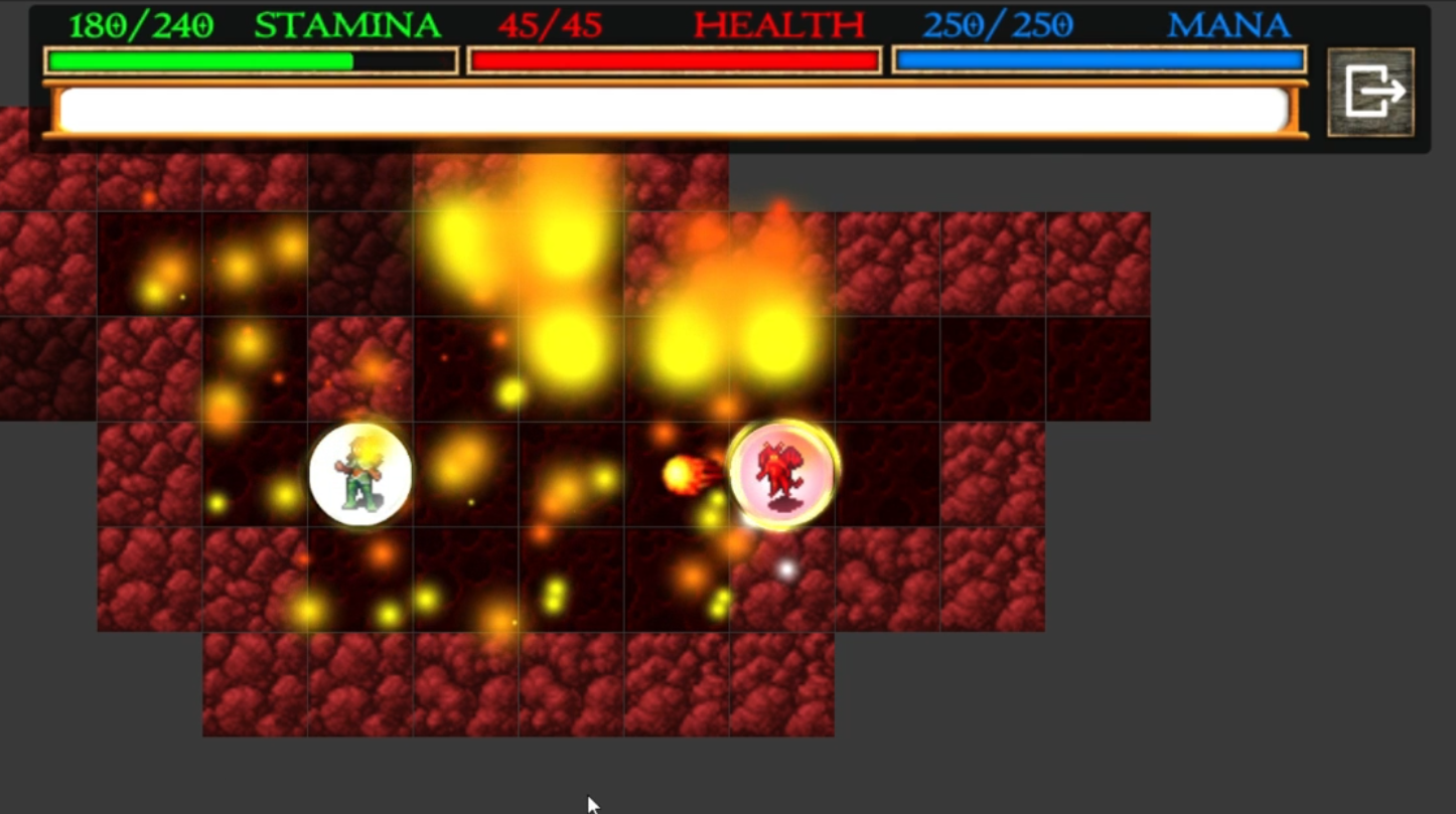 Screenshot 4: Nilia - Roguelike dungeon crawler RPG