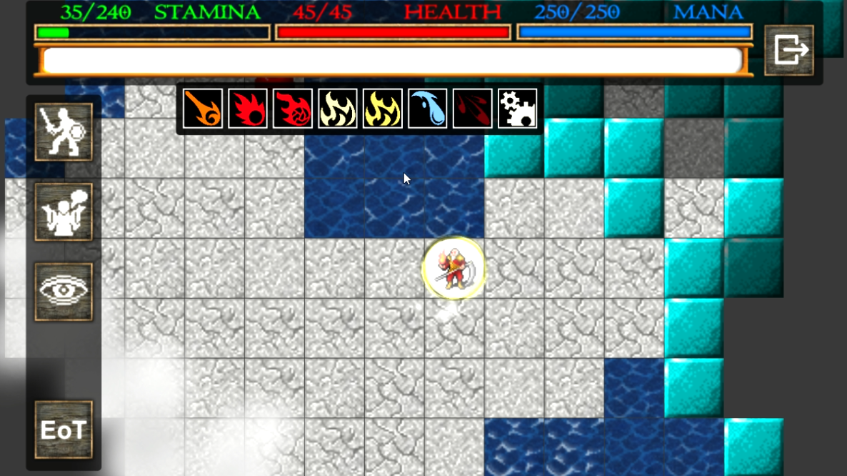 Screenshot 3: Nilia - Roguelike dungeon crawler RPG