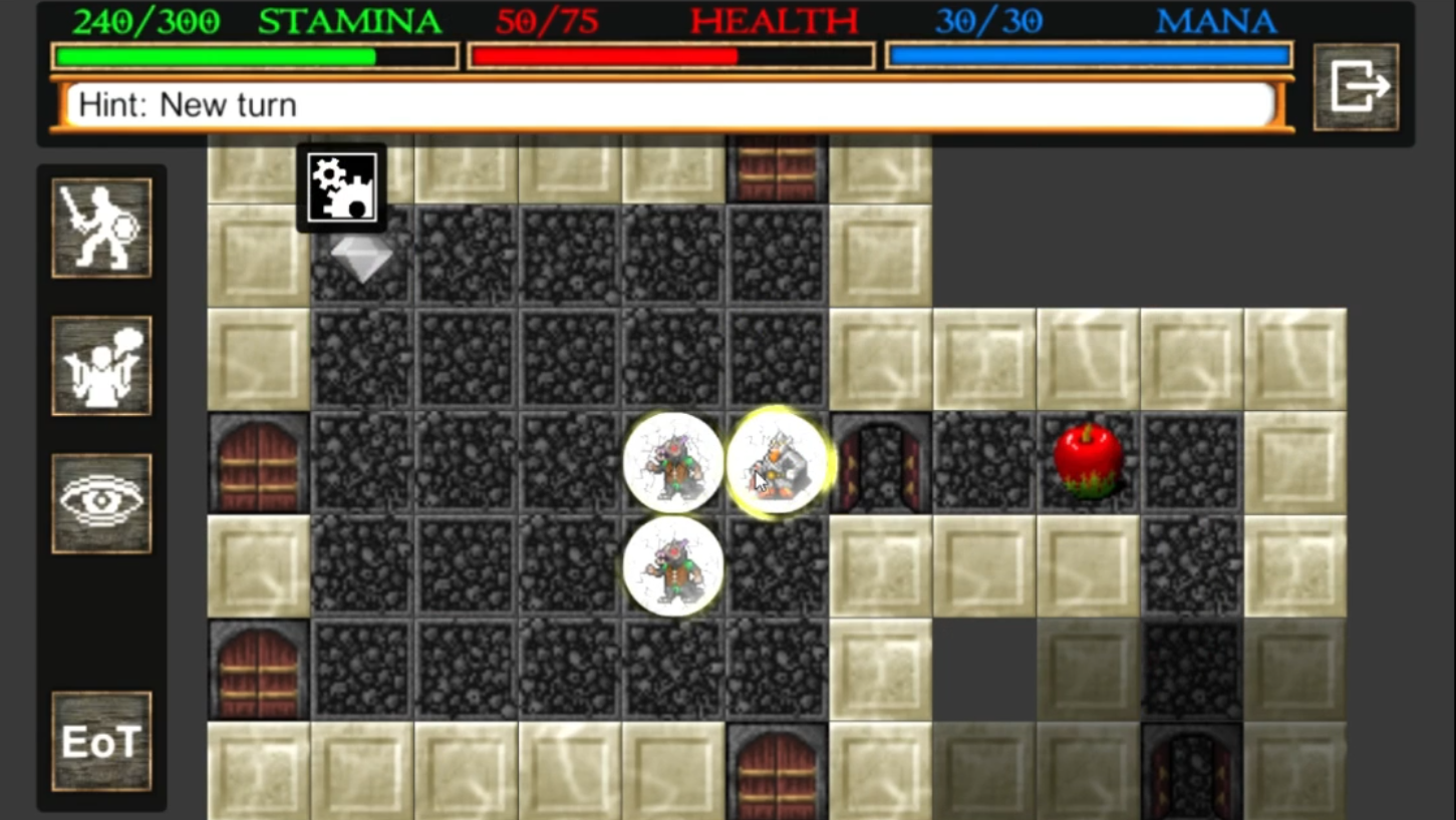 Screenshot 2: Nilia - Roguelike dungeon crawler RPG