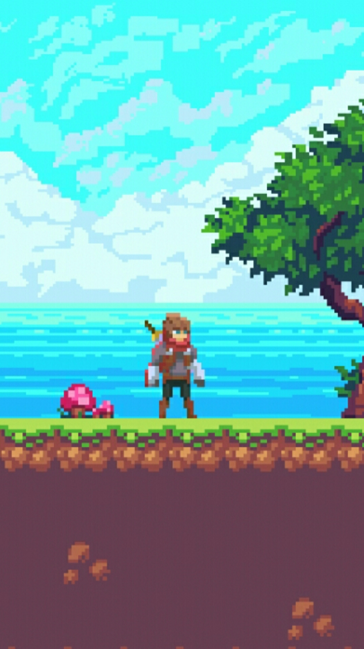 Screenshot 2: The Adventurer - Platformer