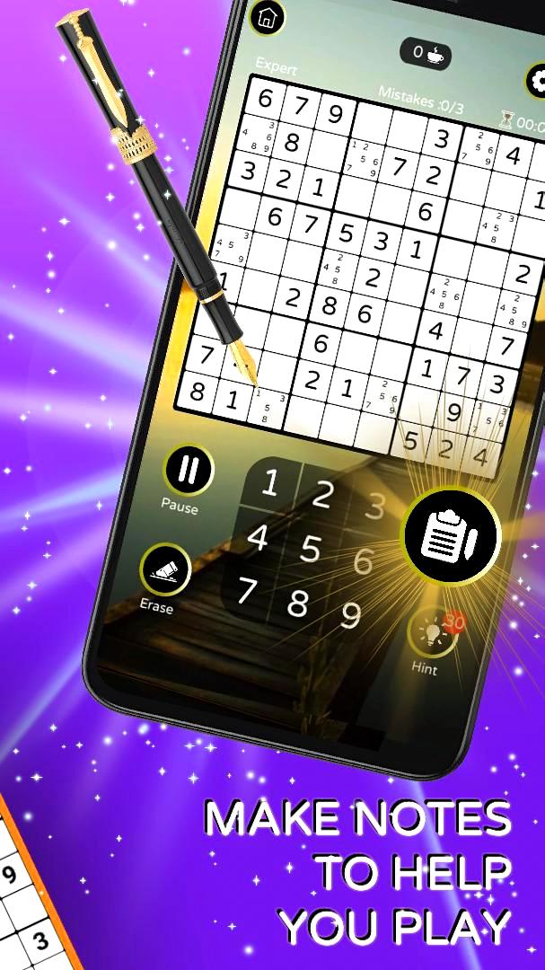 Screenshot 3: Sudoku - Free Classic Offline Puzzle Game