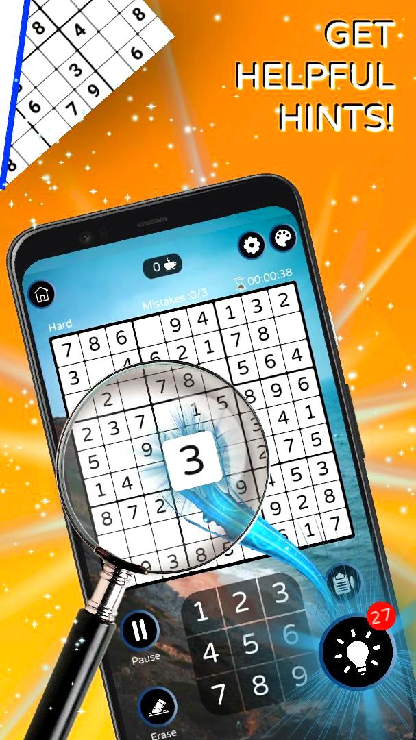 Screenshot 2: Sudoku - Free Classic Offline Puzzle Game