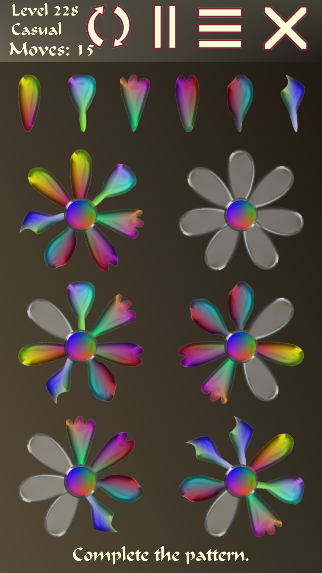 Screenshot 8: Petal Puzzler Shapes